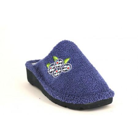 Zapatillas de casa de BEREVERE modelo 4417 color azul marino