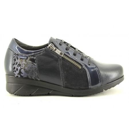 Zapatos con cordones de BAERCHI modelo 36301 color azul marino