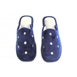Zapatillas de casa de BEREVERE modelo 0522 color azul marino