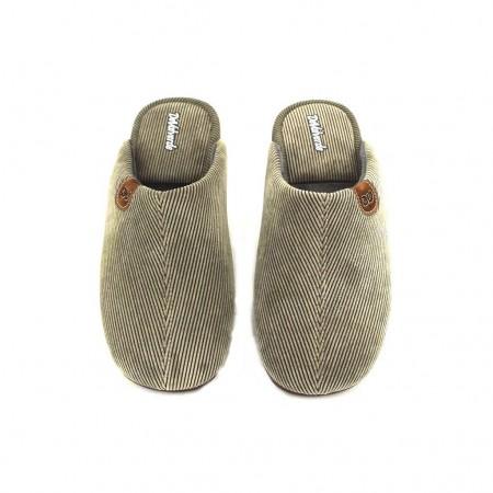 Zapatillas de casa de DEVALVERDE modelo 3073 color tierra