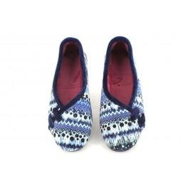 Zapatillas de casa de ALCALDE modelo 3015 color azul marino
