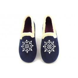 Zapatillas de casa de ALCALDE modelo 65 color azul marino