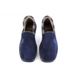 Zapatillas de casa de BEREVERE modelo 314 color azul marino