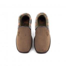 Zapatillas de casa de BEREVERE modelo 314 color marron