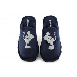 Zapatillas de casa de BEREVERE modelo 0508 color azul marino