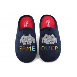 Zapatillas de casa de CABRERA modelo 3527 color azul marino