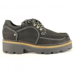 ALEX Zapatos con cordones 0971 negro