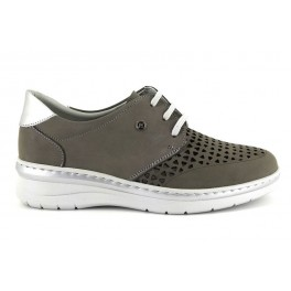 Zapatos con cordones de NOTTON modelo 3204 color gris