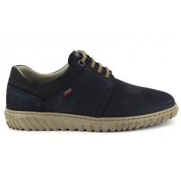Zapatos con cordones de CALLAGHAN modelo 18508 color azul marino