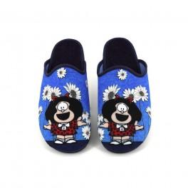 Zapatillas de casa de VULMAS modelo 850 color azul