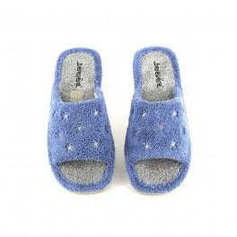 Zapatillas de casa de BEREVERE modelo 1011 color azul
