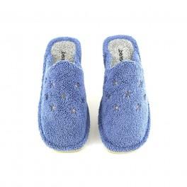 Zapatillas de casa de BEREVERE modelo 1411 color azul