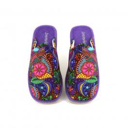 Zapatillas de casa de BEREVERE modelo 1416 color multicolor