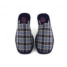 Zapatillas de casa de BEREVERE modelo 1800 color azul