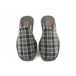 Zapatillas de casa de BEREVERE modelo 1800 color gris