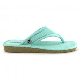 Zapatillas de casa de BEREVERE modelo 4304 color verde