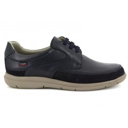 Zapatos con cordones de CALLAGHAN modelo 46800 color azul marino