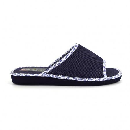 Zapatillas de casa de RASHA modelo 8005 color azul marino