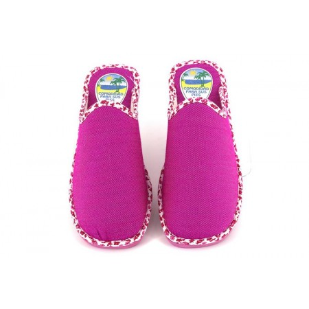 Zapatillas de casa de RASHA modelo 8405 color fucsia