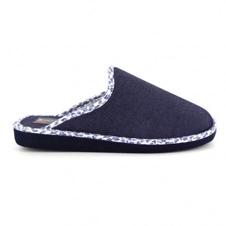 Zapatillas de casa de RASHA modelo 8405 color azul marino