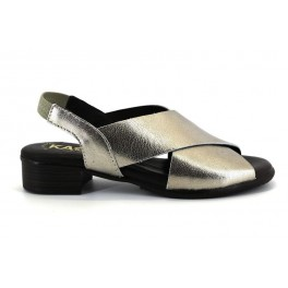 Sandalias de KAOLA modelo 1301 color platino