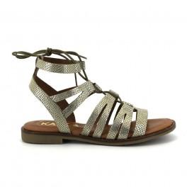 Sandalias de KAOLA modelo 795TEJUS color platino