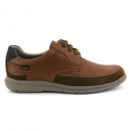 Zapatos con cordones de CALLAGHAN modelo 46800 color cuero