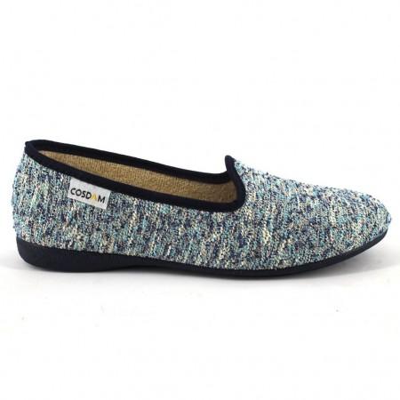Zapatillas de casa de COSDAM modelo 524 color azul marino