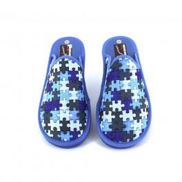 Zapatillas de casa de RASHA modelo 43-3 color azul