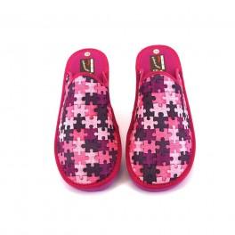 Zapatillas de casa de RASHA modelo 43-3 color fucsia