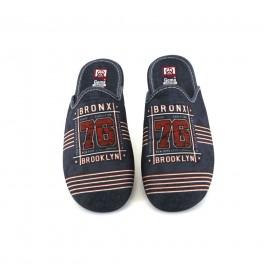 Zapatillas de casa de GEMA modelo 7216-8 color azul marino