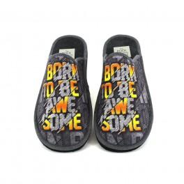 Zapatillas de casa de SLIPPER modelo 106-5 color negro