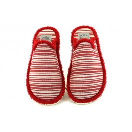 Zapatillas de casa de SLIPPER modelo 604 color rojo