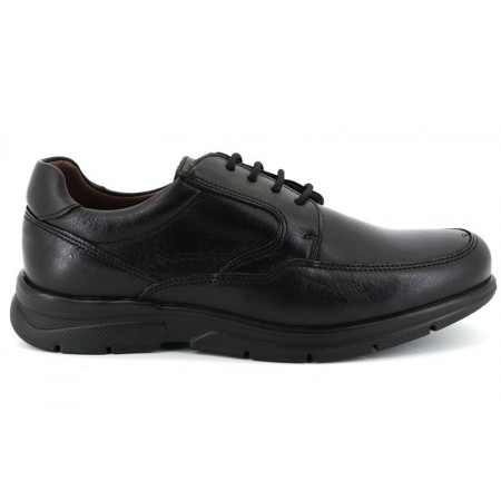 Zapatos con cordones de CLEAR modelo 1250 color negro