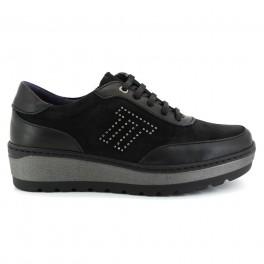 Zapatos con cordones de NOTTON modelo 2829 color negro