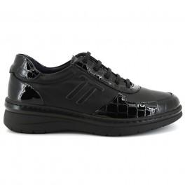 Zapatos con cordones de NOTTON modelo 3216 color negro