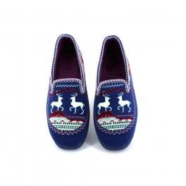 Zapatillas de casa de ALCALDE modelo 2800 color azul