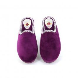 Zapatillas de casa de ALCALDE modelo 8033 color burdeos