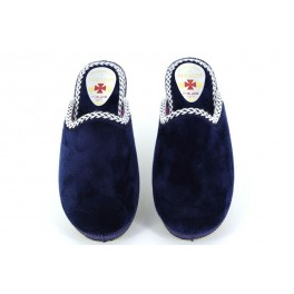 Zapatillas de casa de ALCALDE modelo 8033 color azul marino