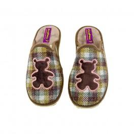 Zapatillas de casa de DESPINOSA modelo 4030 color taupe