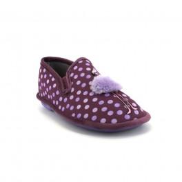Zapatillas de casa de COSDAM modelo 4520 color malva