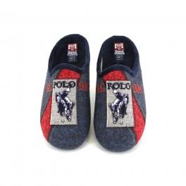 Zapatillas de casa de GEMA modelo 7304-12 color azul marino