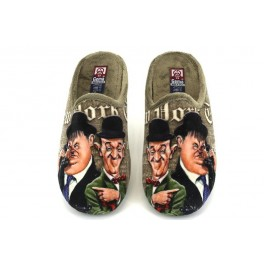 Zapatillas de casa de GEMA modelo 7304-15 color taupe