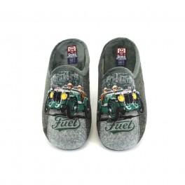 Zapatillas de casa de GEMA modelo 7304-3 color verde