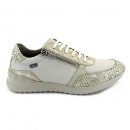 Zapatos con cordones de BAERCHI modelo 55151 color beige
