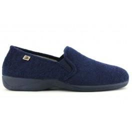 Zapatillas de casa de BEREVERE modelo 8134 color azul marino