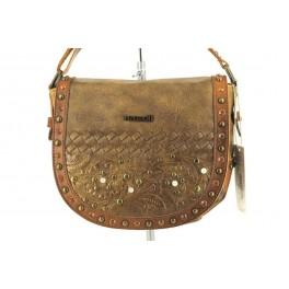 Bolsos de PEPE MOLL modelo 22113 color cuero