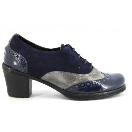 Zapatos con cordones de DILAV modelo 372098 color azul marino