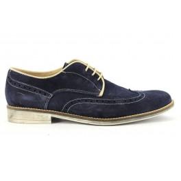 Zapatos con cordones de CLEAR modelo 5344SERRAJE color azul marino