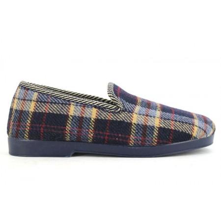 Zapatillas de casa de ALCALDE modelo 4000 color azul marino